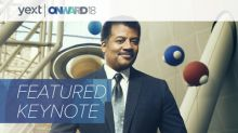 Yext Announces Neil deGrasse Tyson to Keynote ONWARD18