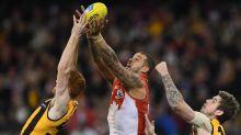 Sydney Swans' forward line no one-man band