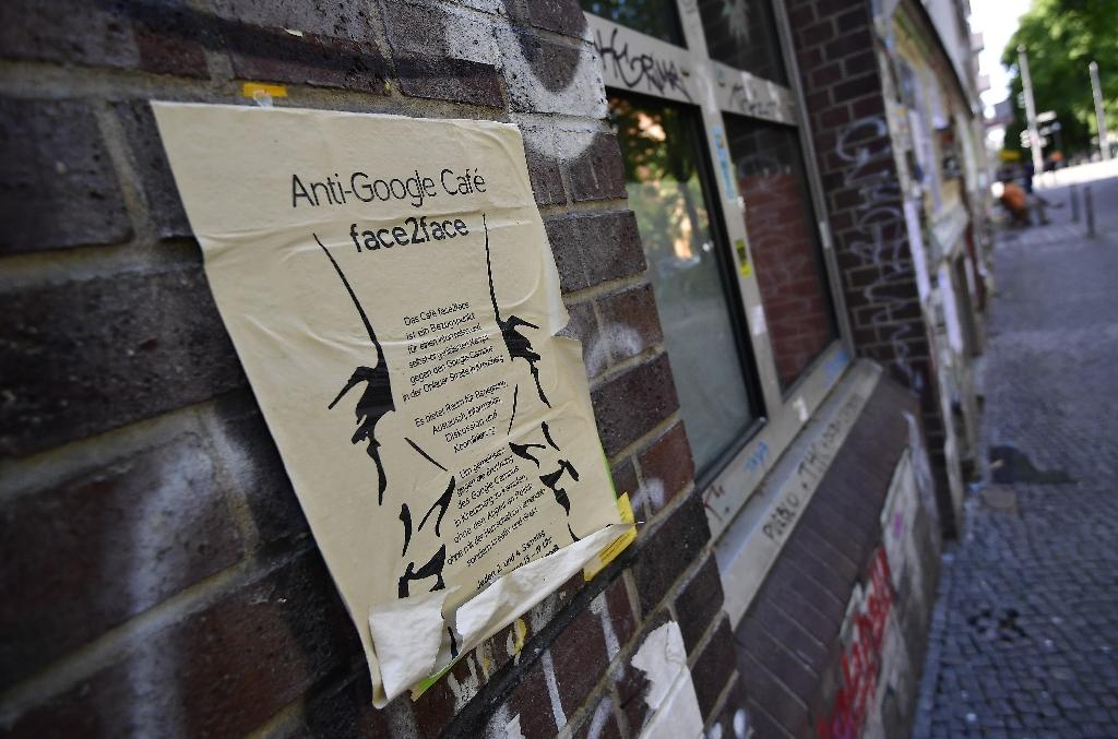 Anti-gentrification activists in Kreuzberg want to keep Google out of their bohemian neighbourhood (AFP Photo/Tobias SCHWARZ)