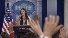 Sarah Huckabee Sanders is on a White House tightrope