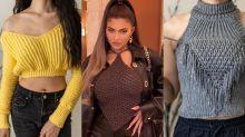 Kylie Jenner mostra que o crochê também pode ser sexy