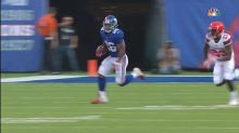 Watch: Saquon Barkley rips 39-yard run on first NFL play