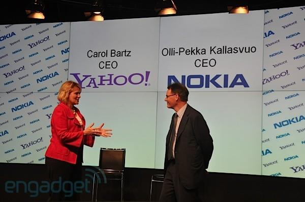 Nokia and Yahoo announce 'worldwide strategic alliance' on email, IM, maps, and more