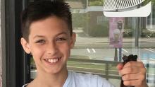 Un jeune garçon a ignoré les stéréotypes et s'est laissé pousser les cheveux afin de faire un don
