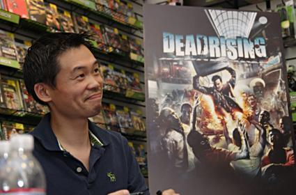 Dead Rising creator fends off fans at mall