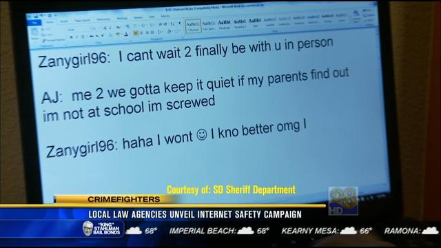 Local law agencies unveil internet safety campaign