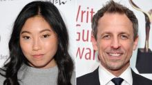 'SNL': Alum Seth Meyers and 'Crazy Rich Asians' Star Awkwafina to Host October Episodes