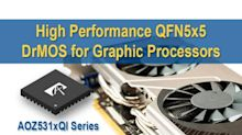 Alpha and Omega Semiconductor Unveils New Generation of DrMOS Power Stage for High-Performance Graphics Add-in-Cards and Gaming Notebooks
