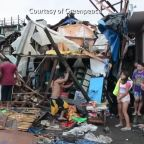 Repair work underway in post-storm Philippines