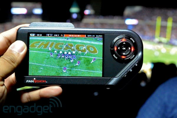 NFL FanVision review -- and behind the scenes