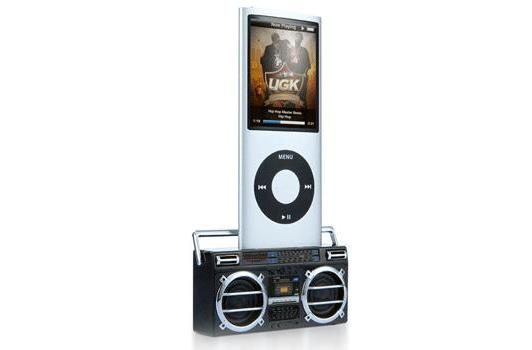 Retro Cassette Stereo Mini Speaker gives a (tinny) voice to iPods