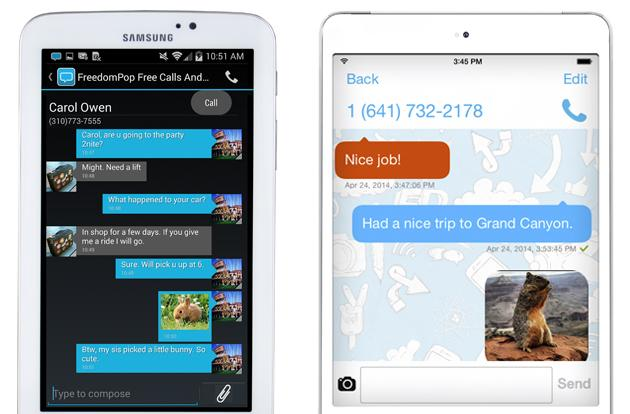 FreedomPop's free data and voice are now available on tablets