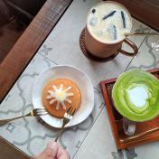 宜蘭礁溪老宅「乓乓雜貨咖啡」,富士山磅蛋糕超吸睛!