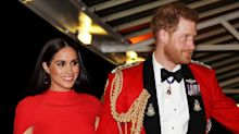 Prince Harry and Meghan Markle flirt in trailer as they launch their own podcast