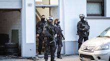 Verdacht auf Clankriminalität: Vier Männer festgenommen
