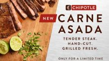 Chipotle Launches Carne Asada Nationwide