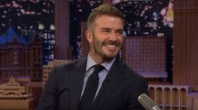 David Beckham still has the train ticket that Victoria Beckham wrote her number on when they first met