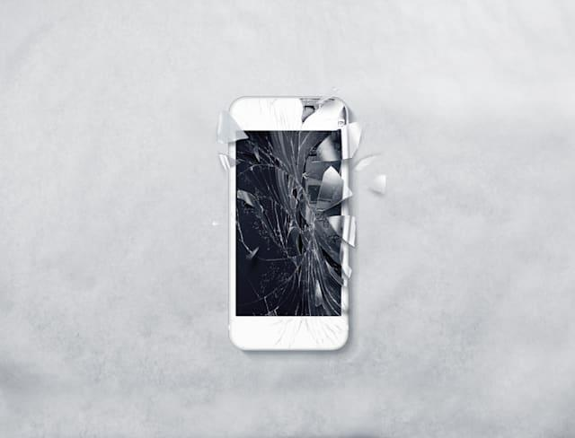 Cracking up? Solutions for a broken smartphone screen