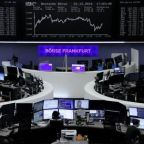 World stocks shrug off U.S. shutdown, dollar dips