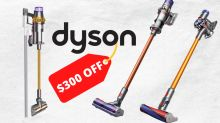 Dyson slashes $300 off stick vacuums in massive sale