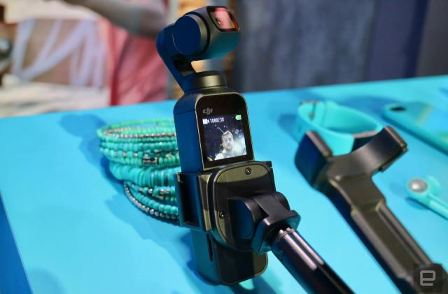 A closer look at DJI's Osmo Pocket camera