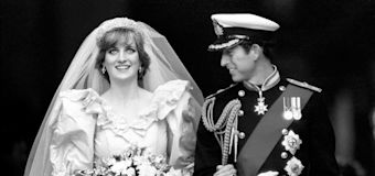 Diana's continual weight loss was a real struggle for her wedding dress designers