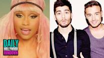 Liam Says Zayn Left 1D For Perrie? - Nicki Minaj In 'Hey Mama' Music Video (DHR)