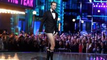 Alexander Skarsgard Presents in His Underwear, Calls Out Zac Efron at MTV Movie Awards