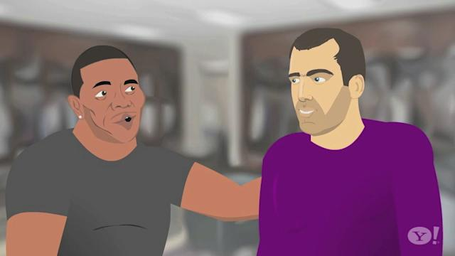 Sports Friends - Ray Rice and Joe Flacco