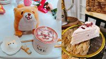 【長沙灣美食】打卡文青Café推介5間!純素蛋糕+柴犬咖啡+玫瑰千層蛋糕