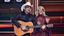 Carrie Underwood And Brad Paisley Zing Trump At The CMAs