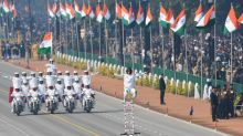 Women grab limelight at India's Republic Day pageantry
