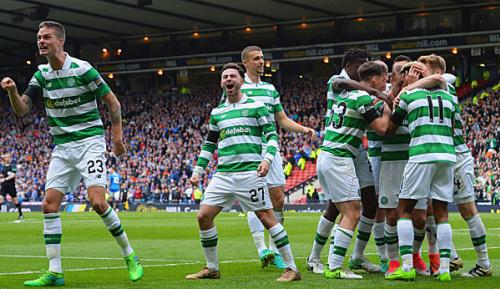 International: 2:0 im Pokal-Halbfinale gegen die Rangers: Celtic vor Triple