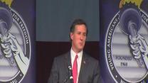 Rick Santorum speaks in Detroit area