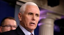 Pence says Italy is probably best comparison to U.S. now