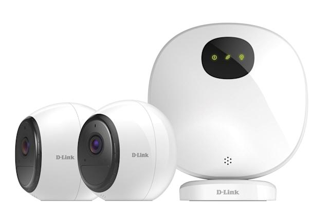 D-Link adds battery-powered and LTE cameras to its home security line