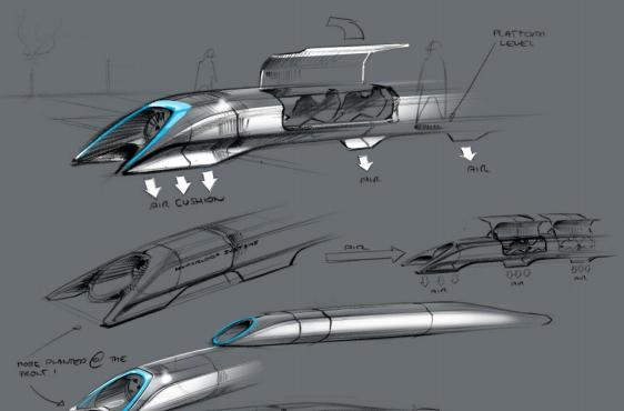 Elon Musk details Hyperloop: public transit via aluminum pods and electric motors