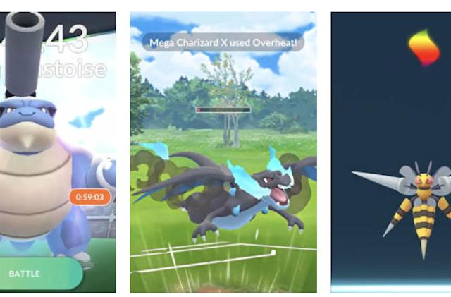 'Pokémon Go' super-sizes its creatures with Mega Evolutions