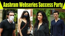 Success Party Of Aashram With Starcast at Prakash Jha Office