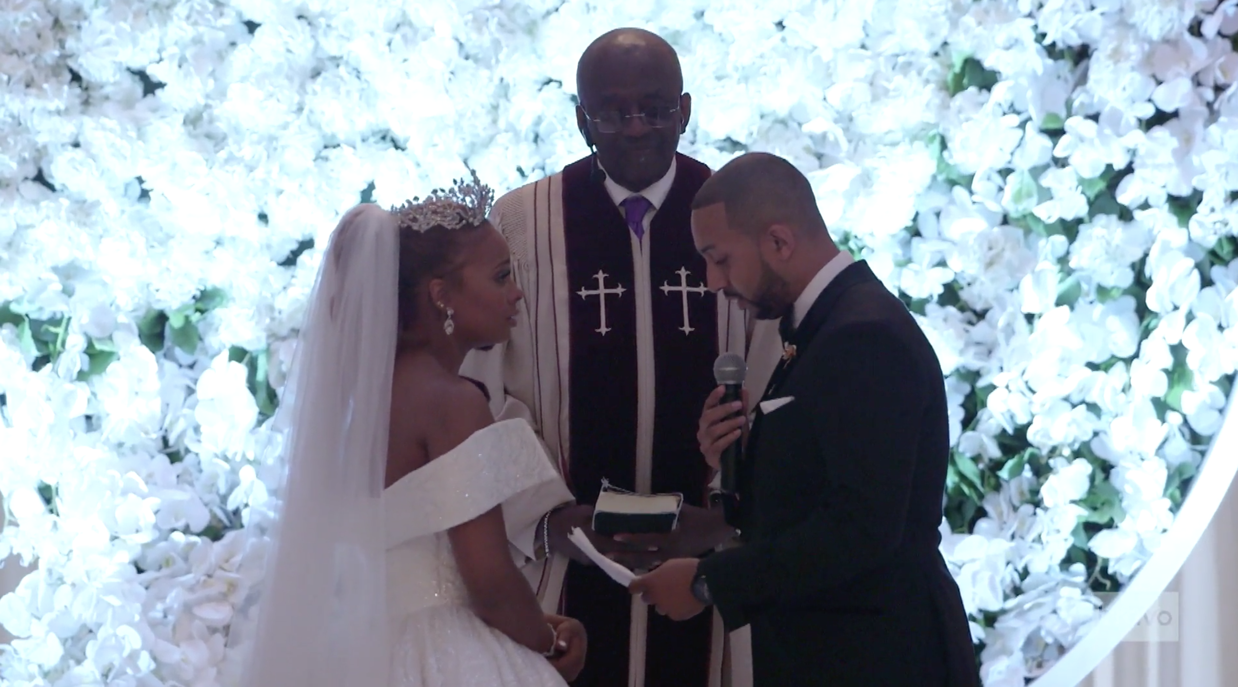 Eva Marcille's Wedding Airs on Real Housewives of Atlanta: Read Her  Emotional Vows