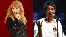 Taylor Swift Holds Moment of Silence for Aretha Franklin at Detroit Concert
