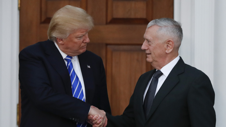 Video proves Trump was once a fan of Mattis