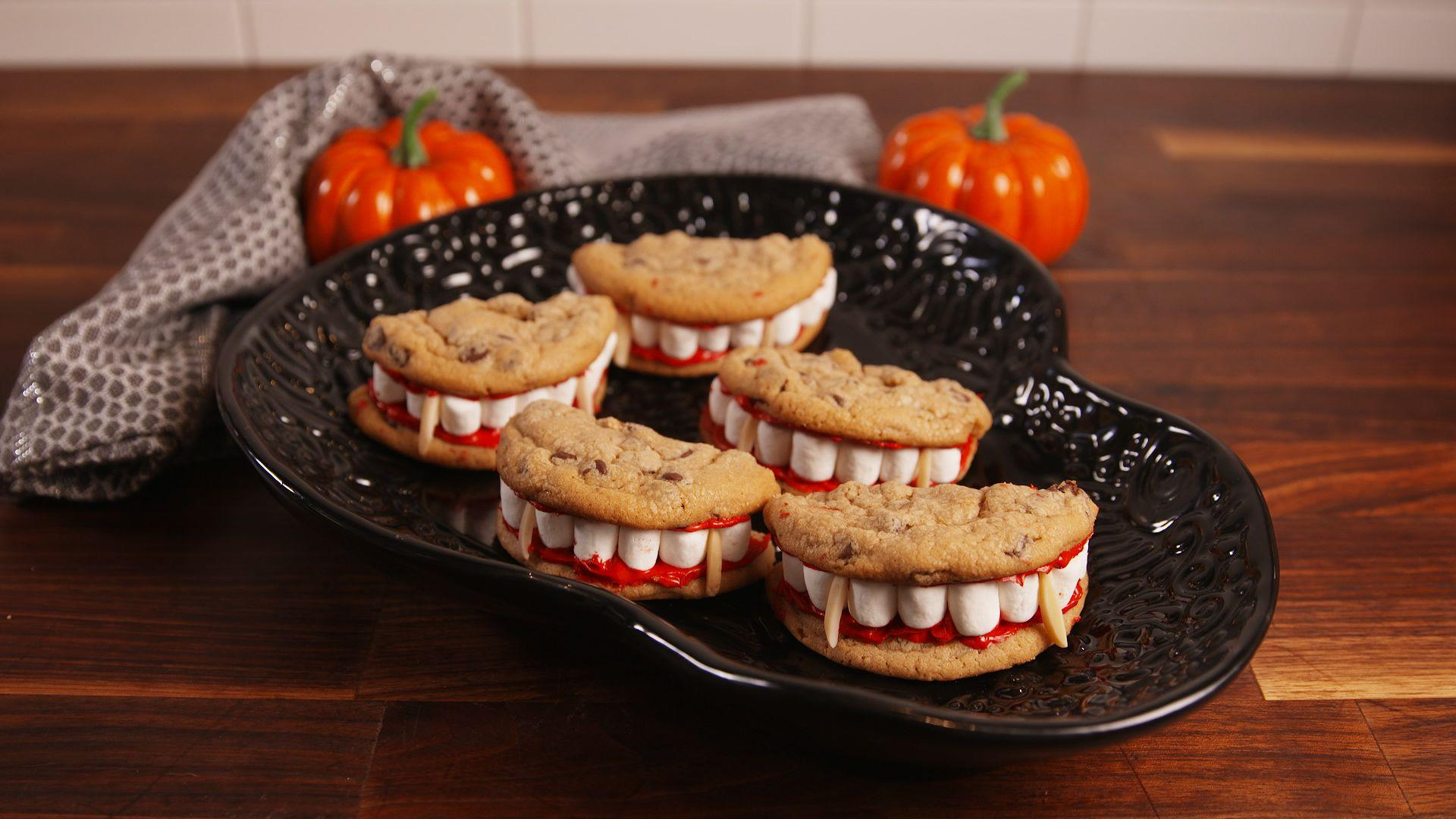 """<p>We like to think of Halloween as a month-long occasion. If there can be 25 days of Christmas, why not, right? Make your October more festive with these fun, Hallow's Eve-themed snacks. And while you're in the spirit, here are some fun <a href=""""https://www.delish.com/holiday-recipes/halloween/g1813/halloween-pumpkin-carving/"""" rel=""""nofollow noopener"""" target=""""_blank"""" data-ylk=""""slk:Jack-O-Lantern ideas"""" class=""""link rapid-noclick-resp"""">Jack-O-Lantern ideas</a> to get your creative juices flowing.</p>"""