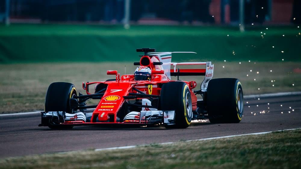 Ferrari新車SF70H由Raikkonen率先試航