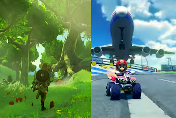 Breath Of Wild,' 'Mario Kart' For Nintendo Switch Details Revealed