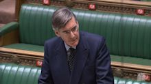 Jacob Rees Mogg plays 'Rule, Britannia!' in Commons after BBC U-turns on Proms performance
