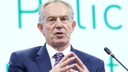 Blair hints at second Brexit referendum