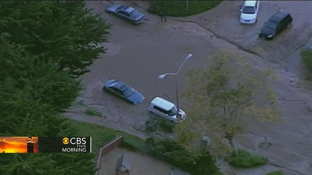 Calif. water main break forces evacuations