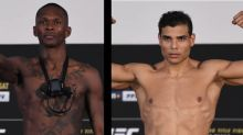 UFC 253 weigh-in results: Championship doubleheader set, but two fighters miss weight