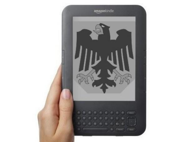 Amazon launches German Kindle Store with 650,000 titles and lots of long words